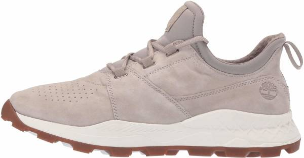 Timberland Brooklyn Perforated  - Light Taupe Suede