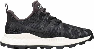 Timberland Brooklyn Canvas Sneakers - Jet Black