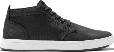 Timberland Davis Square Mixed-Media Chukka - Black (A1OI5)