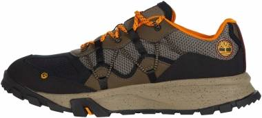 Timberland Garrison Trail Low - Noir Bleu Beige Orange (53992)