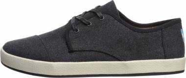 TOMS Paseo - Black Washed Canvas (100129001)