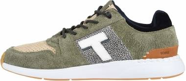 TOMS Arroyo - Lichen Green Shaggy Suede/Nubuck Leather Mix