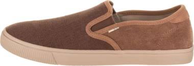 TOMS Baja Slip-On - Bark Suede (100125201)
