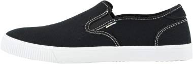 TOMS Baja Slip-On - Black Canvas/Contrast Stitching (100132410)