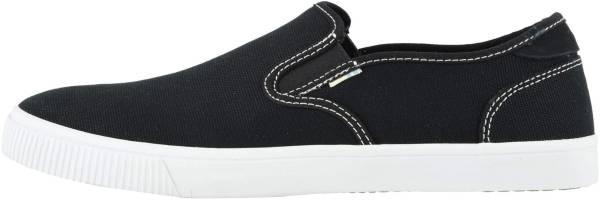 TOMS Baja Slip-On - Black Canvas/Contrast Stitching (100132410)