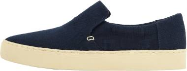 TOMS Lomas Slip-On - Navy Heritage Canvas (100125410)