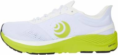 Topo Athletic Cyclone - White / Lime (M045WHTLIM)