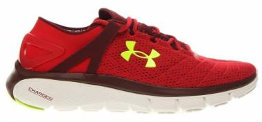 Under Armour SpeedForm Fortis - Red / White