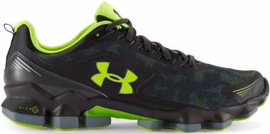 Under Armour Micro G Nitrous Charcoal/ Steel/ High-vis Yellow Men