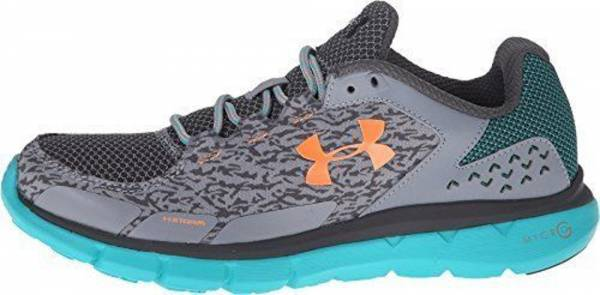 Under Armour Micro G Velocity men grey/blue/orange