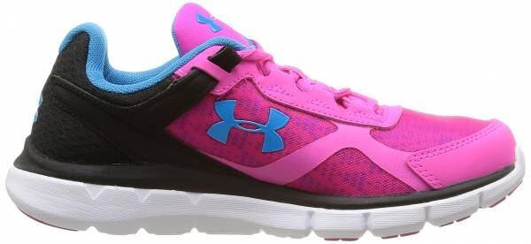 Under Armour Micro G Velocity woman rosa - rose (rebel pink)