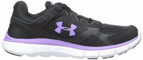 Under Armour Micro G Velocity woman blk/wht/vvl