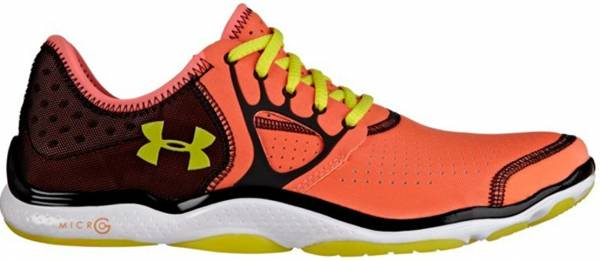 Under Armour FTHR Radiate woman electric tangerine/white