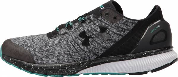 Under Armour Charged Bandit 2 men overcast gray/white/black