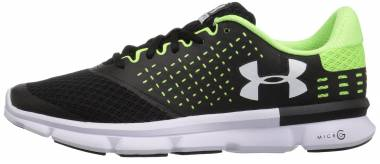 Under Armour Micro G Speed Swift 2 - Black Black Quirky Lime (1285683004)