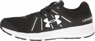 Under Armour Dash RN 2 - Black Black White (1285671001)