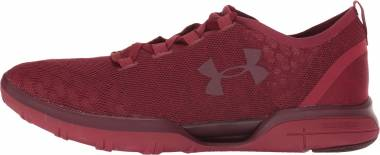 Under Armour Charged CoolSwitch Cardinal/Cardinal/Dark Maroon Men