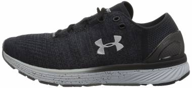 20b54ac0e17 Under Armour Charged Bandit 3 Stealth Gray Black Metallic Silver Men
