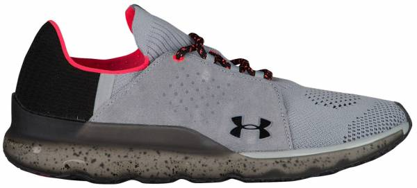 Under Armour Threadborne Reveal - Overcast Gray / Marathon Red / Black (1302479102)