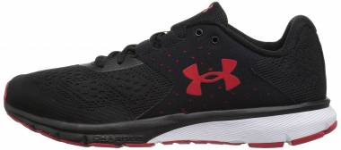 Under Armour Charged Rebel - Mehrfarbig Black Red 001