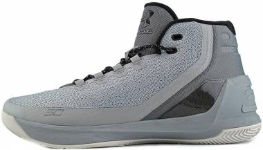 best website 8150e fda78 Under Armour Curry 3 Grey Men