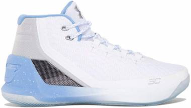 Under Armour Curry 3 White Men