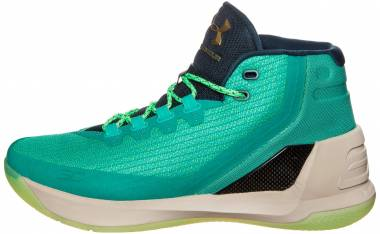 Under Armour Curry 3 Green Men