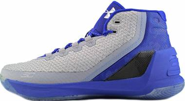 Under Armour Curry 3 - Anthracite White Constellation Purple