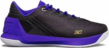 Under Armour Curry 3 Low - Anthracite/Purple (1286376016)