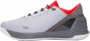 Under Armour Curry 3 Low - Grey Grey Red 289