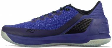 Under Armour Curry 3 Low - purple blue 540