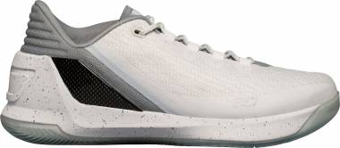 Under Armour Curry 3 Low White/Glacier Men