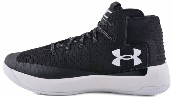 Under Armour Curry 3ZER0 Black / White