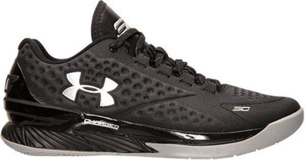 Under Armour Curry One Low - Black/Steel/Metallic Silver (1269048004)