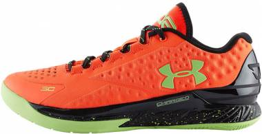 Under Armour Curry One Low Bolt Orange/black/green Men