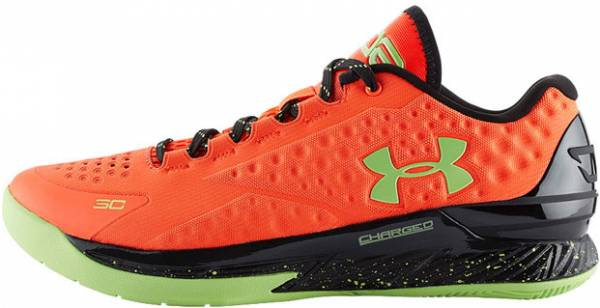 Under Armour Curry One Low Bolt Orange/black/green