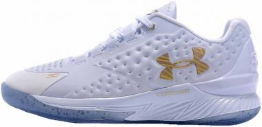 Under Armour Curry One Low White Gold Men