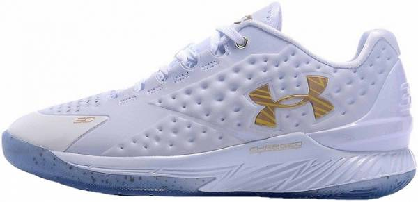 outlet store 1c7f5 f7026 Under Armour Curry One Low White Gold