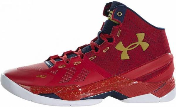 Under Armour Curry Two - Red/ady/mgo (1259007601)