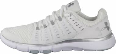 Under Armour Micro G Limitless 2 White/White/Metallic Silver Men