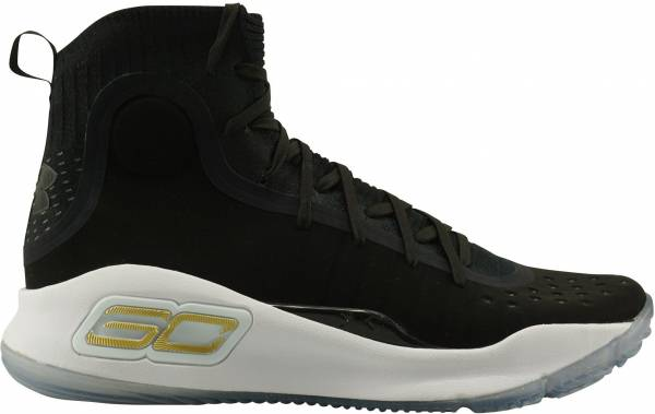 pretty nice c0496 09415 Under Armour Curry 4 Black
