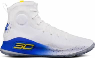 the best attitude b7855 fe604 Under Armour Curry 4 White Men