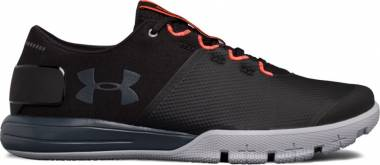 Under Armour Charged Ultimate 2.0 - Black (005)/Overcast Gray