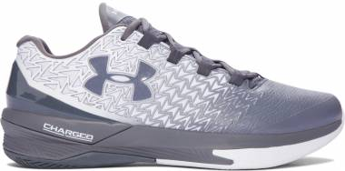Under Armour ClutchFit Drive 3 Low - White/Graphite/Graphite