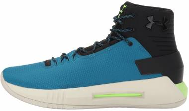 Under Armour Drive 4 - Black 003 Bayou Blue