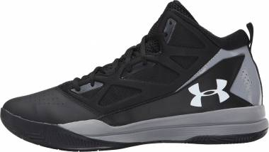 Under Armour Jet Mid - Black/Steel/White
