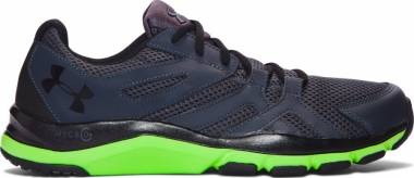 Under Armour Strive 6 - Stealth Gray Hyper Green Black (1274408008)