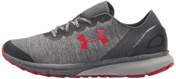 Under Armour Charged Escape Glacier Gray/Rhino Gray/Red