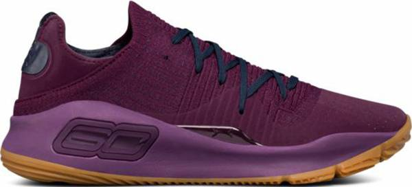 Under Armour Curry 4 Low - Purple (3000083500)