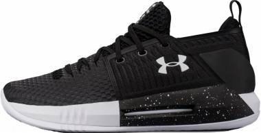 Under Armour Drive 4 Low White/Black/White Men